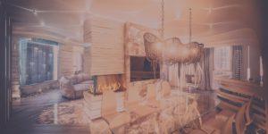 Алые паруса — гостинная — кухня