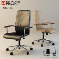Визуализация кресла profim niko 31z