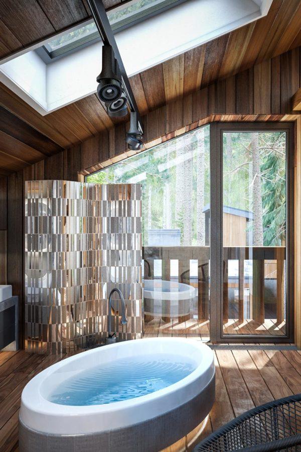 Эко-Дом в Жуковке - спальня, ванная, гардероб