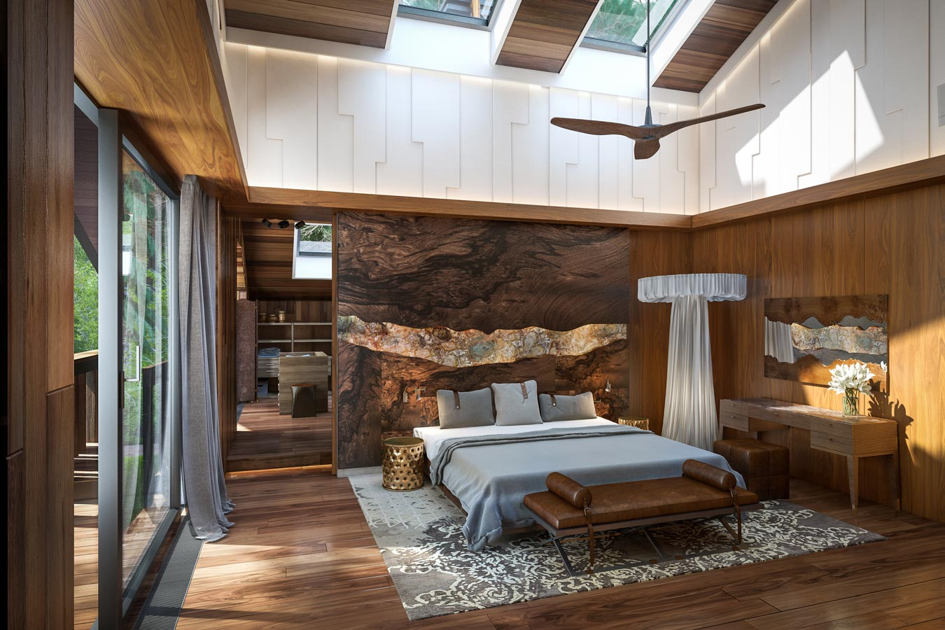 Holz Deko Modern
