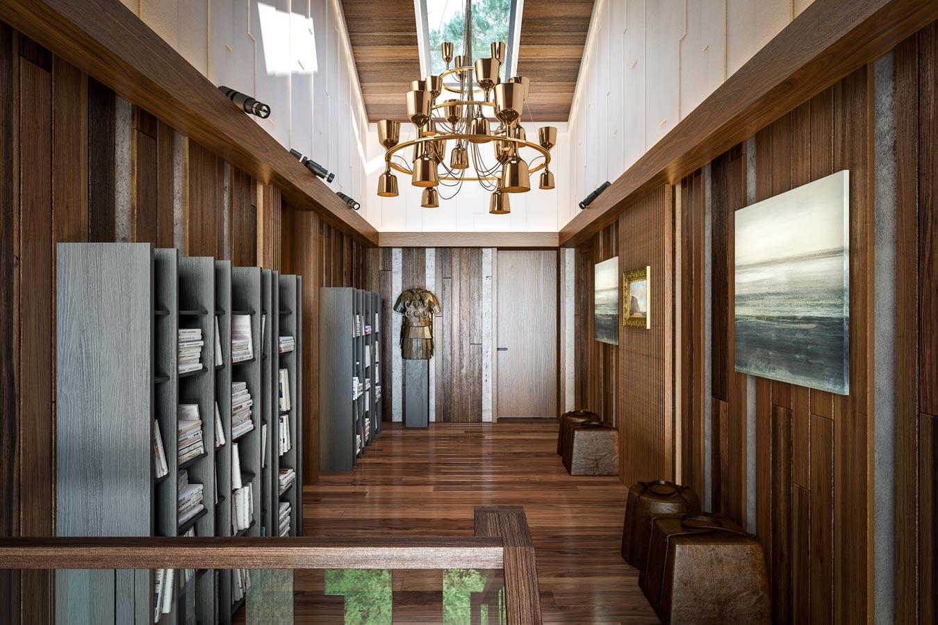 Эко-дом в Жуковке — холл