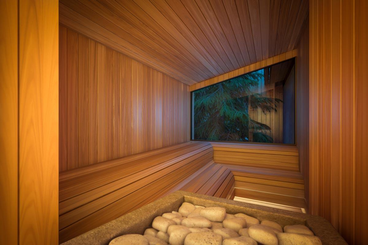 3D Визуализация Эко-Дома в Жуковке - Spa (сауна)