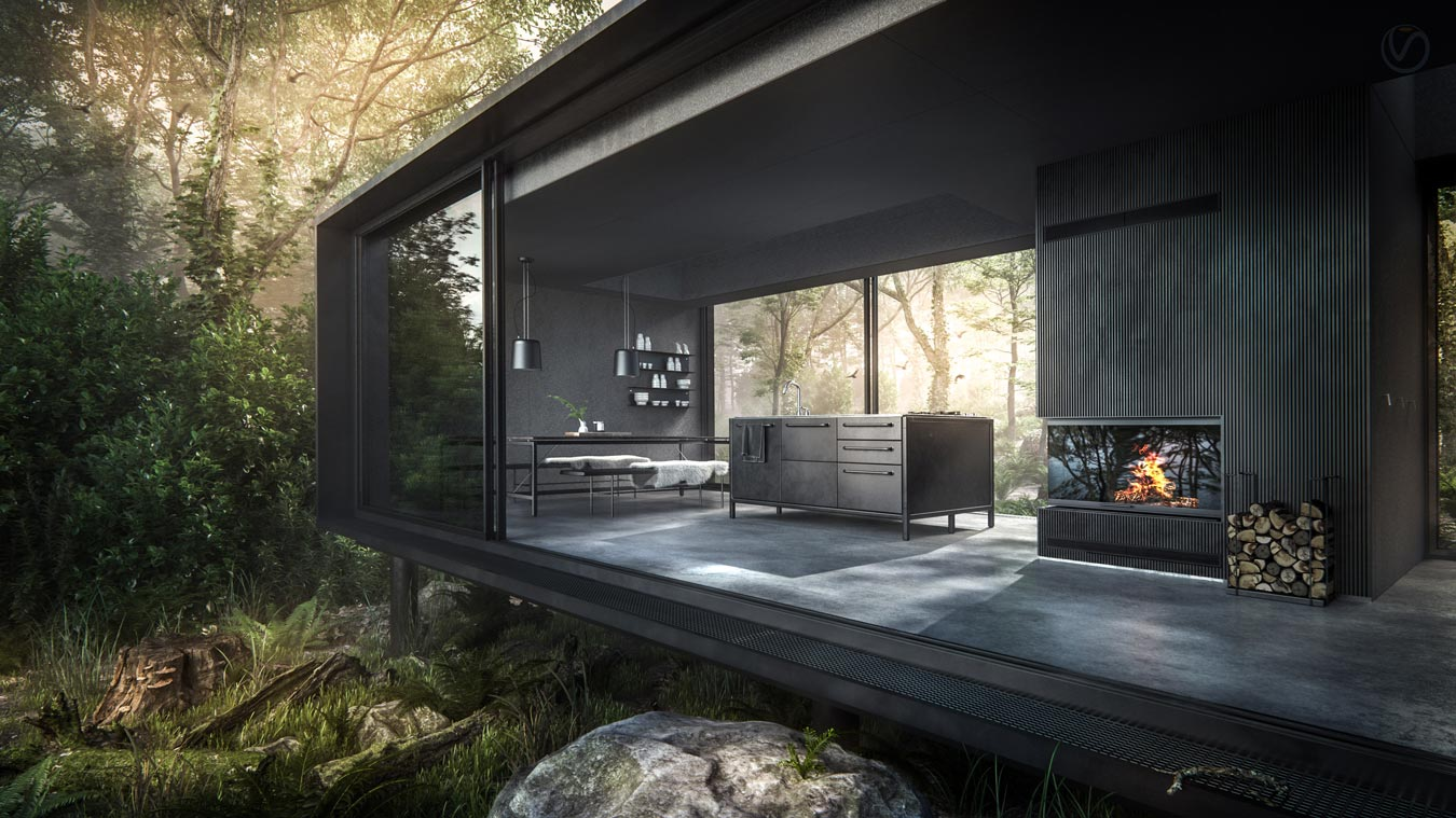3d visualization the vipp shelter
