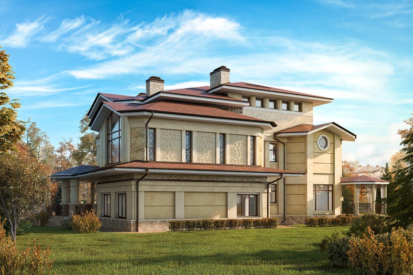 Элитный дом в поселке Гринфилд