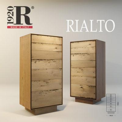 Визуализация комода Rialto фабрики RIVA 1920