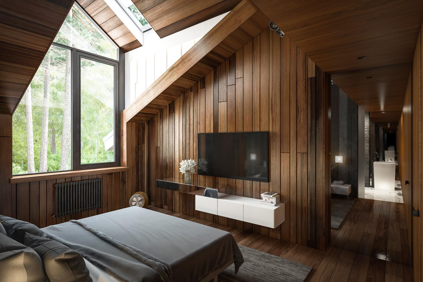co-house in Zhukovka — guest room